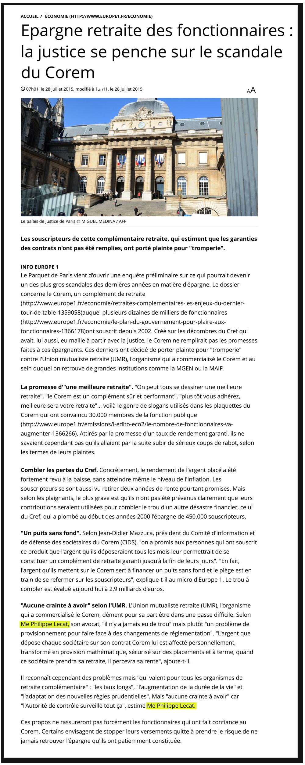 """""""SCP LECAT & ASSOCIES : Des avocats classiques, mais numériques, discrets et disponibles"""""""